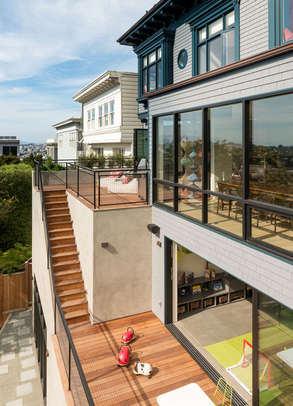 Buena Vista Park San Francisco Home Remodeled by GGD Inc