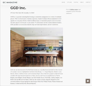 GGD, Inc. has been selected as one of the top General Contractors in its region by General Contractors Magazine!